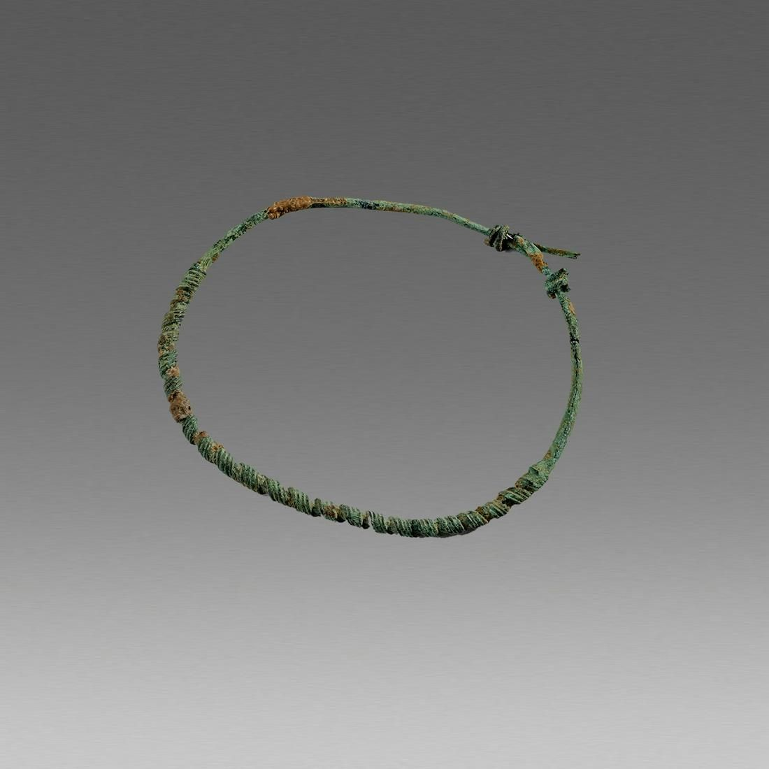 Ancient Roman Brittin Bronze Bracelet c.2nd cent AD.