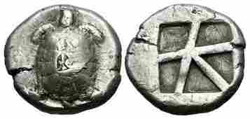 Ancient Greek ISLANDS off ATTICA, Aegina. Stater