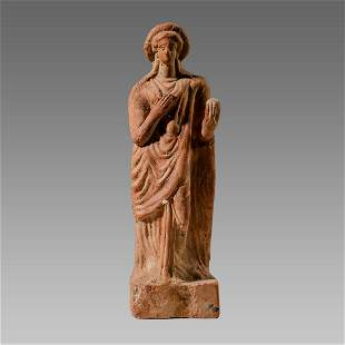 Ancient Greek Terracotta Figure Of Aphrodite c.4th