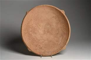 Large Ancient Holy Land Iron Age Pottery Bowl c.1400