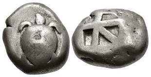 ISLANDS off ATTICA, Aegina. Circa 525-480 BC.