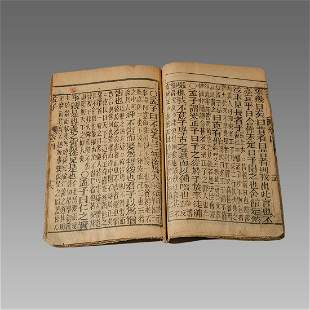 19th century Chinese Dictionary Book translation of