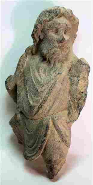 Ancient Gandhara Schist Figure c.2nd cent AD