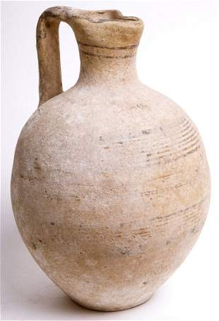 Ancient Cypriot Archaic Pottery Jug c.1000 BC. Ex MET