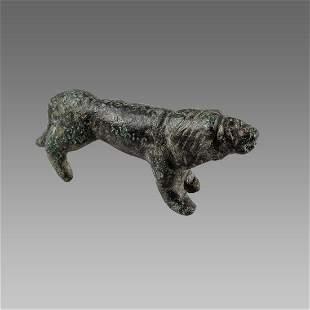 Ancient Roman Bronze Lion c.1st-2nd century AD.