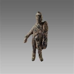 Ancient Roman Bronze Figure Of Hercules c.1st century