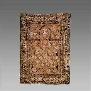 caucasian Wool Rug c.late 19th century.