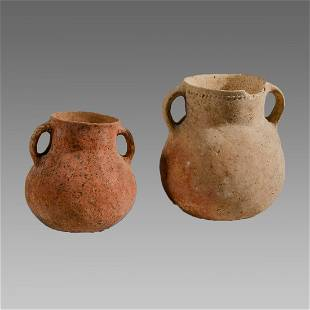 Ancient Holy Land Bronze Age Terracotta Vessels c.2100