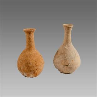 Ancient Holy Land Roman Terracotta Vessels c.100 AD.