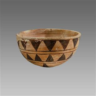 Ancient Cypriot Pottery Bowl c.1000 BC.