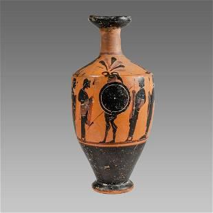Ancient Greek Attic Lekythos c.5th century BC.