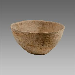 Ancient Holy land Bronze Age Terracotta Bowl c.2000 BC.