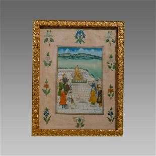 Indian Miniature Painting.