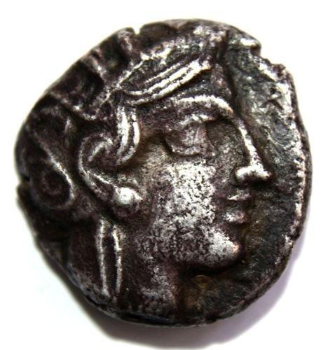 Ancient ATTICA, Athens Circa 454-404 BC AR Tetradrachm