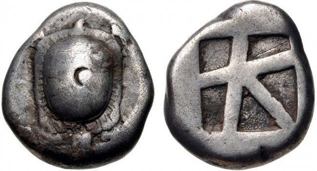 ISLANDS off ATTICA, Aegina. Circa 456/45-431 BC. AR