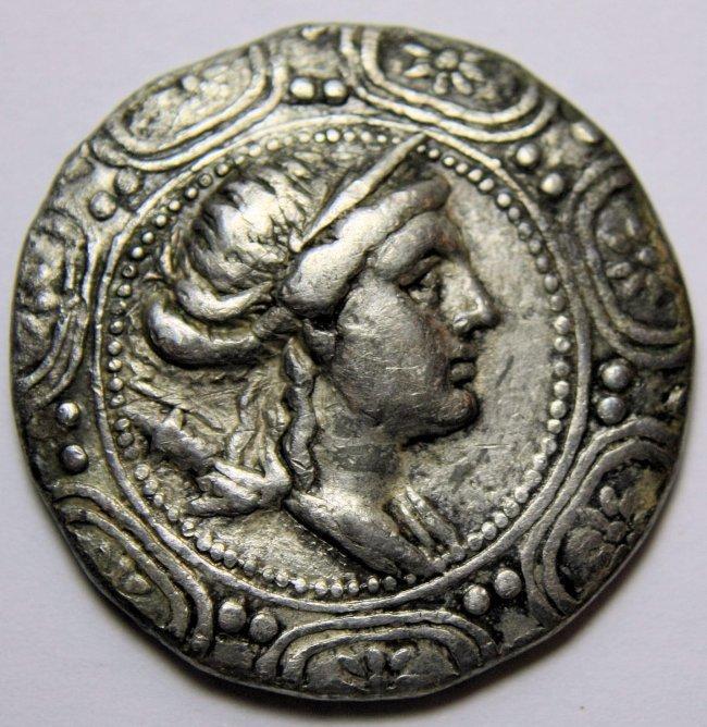 MACEDON, Under Roman Rule. First Meris. AR Tetradrachm