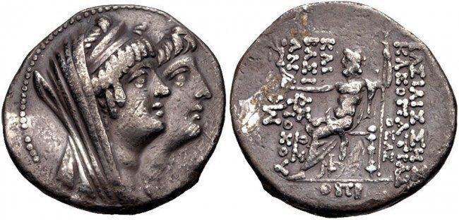 SELEUKID KINGS of SYRIA. Kleopatra Thea & Antiochos