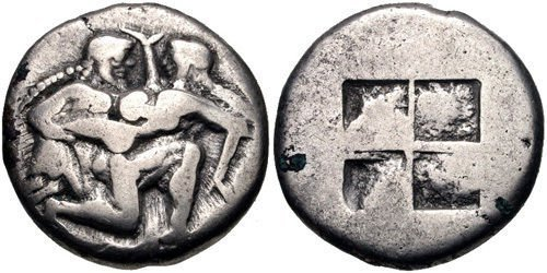 ISLANDS off THRACE, Thasos. Circa 500-480 BC. AR Stater