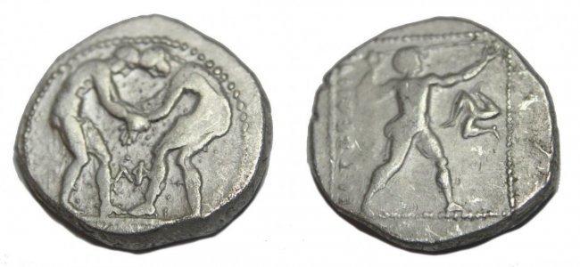 PAMPHYLIA, Aspendos. Circa 380/75-330/25 BC. AR Stater