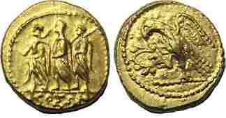 SKYTHIA, Geto-Dacians. Koson.Mid 1st cen BC.Gold Stater
