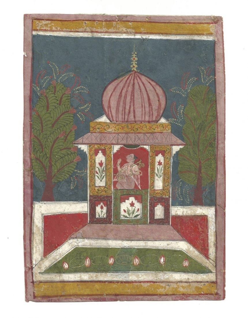 Malwa, Central India, 17th century painting on Gouache
