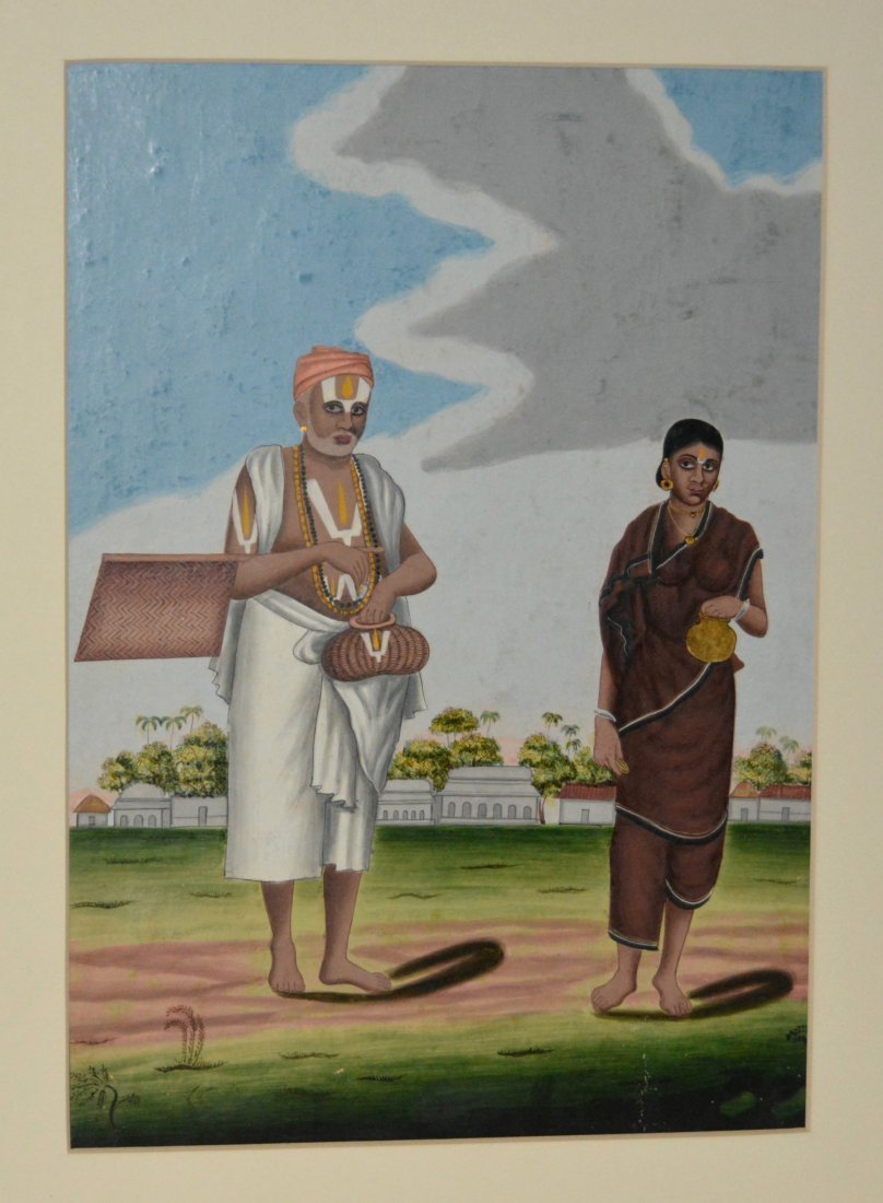 Kalicut, Bengal, India, 19th century painting