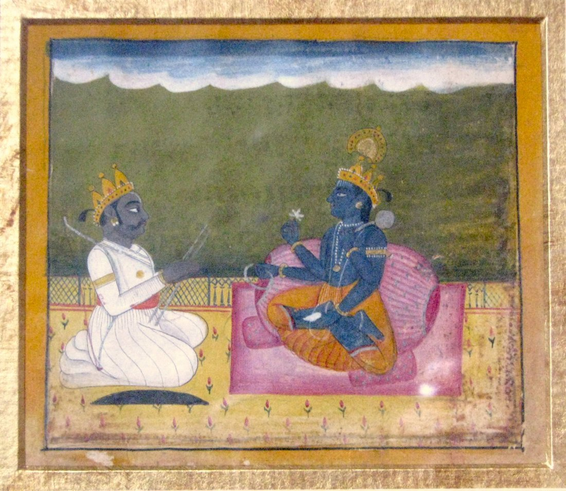Jaipur, India  Late 18th Century Painting On Gouache