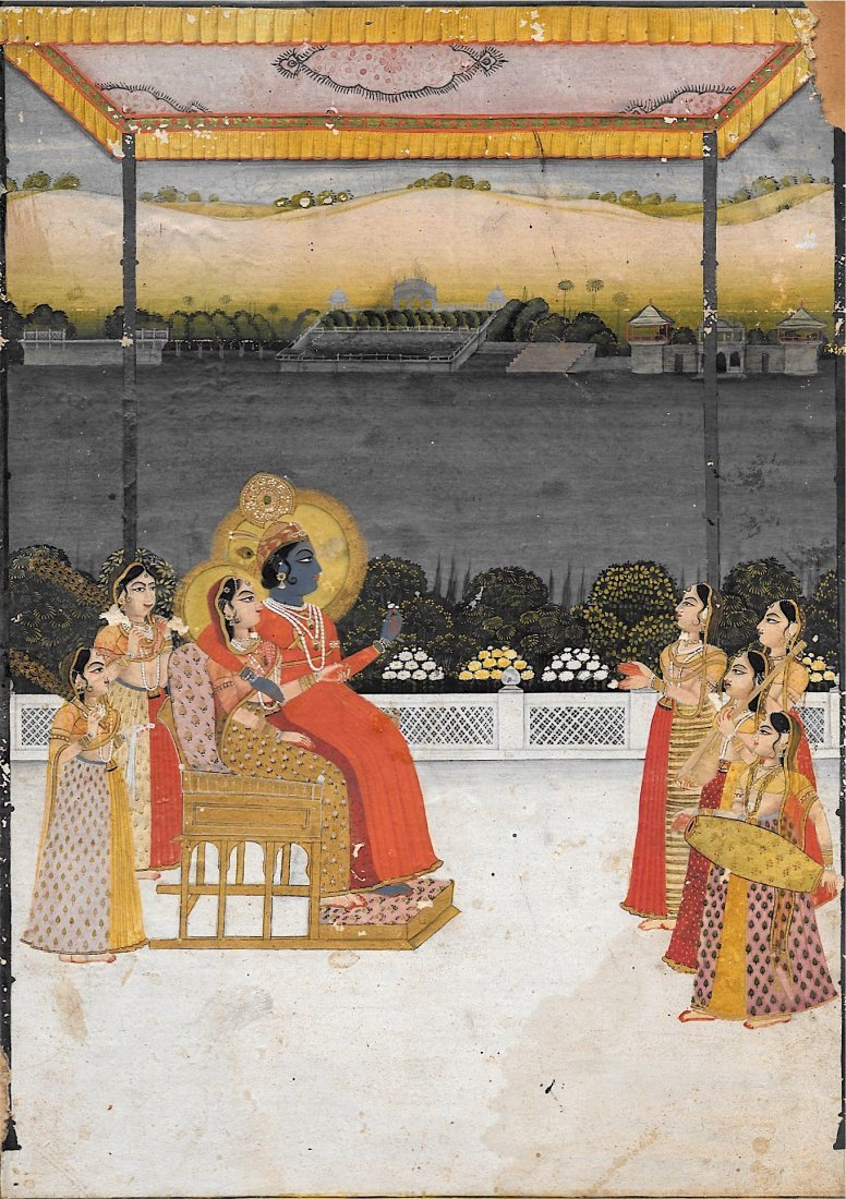 Provincial Mughal Shool, India, Circa 1760-80 painting