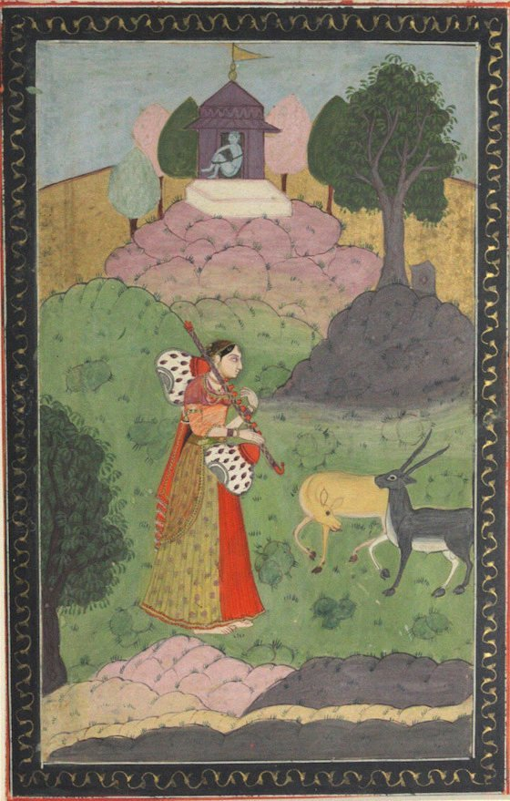 Provincial Mughal, India, Early 19th Century painting