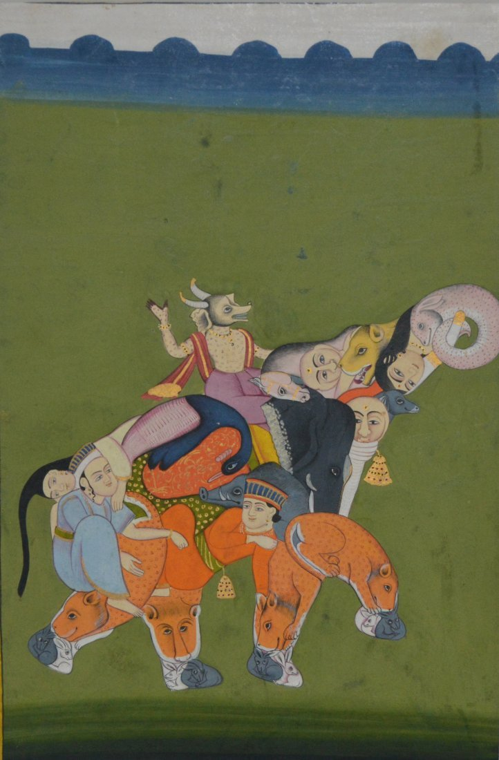 Jaipur, Rajasthan, India, early 19th century painting