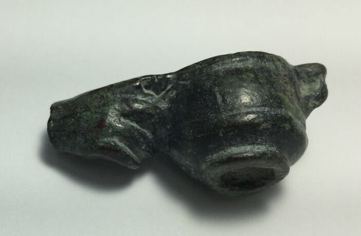 Ancient Roman Bronze Hand holding cup c.2nd century AD