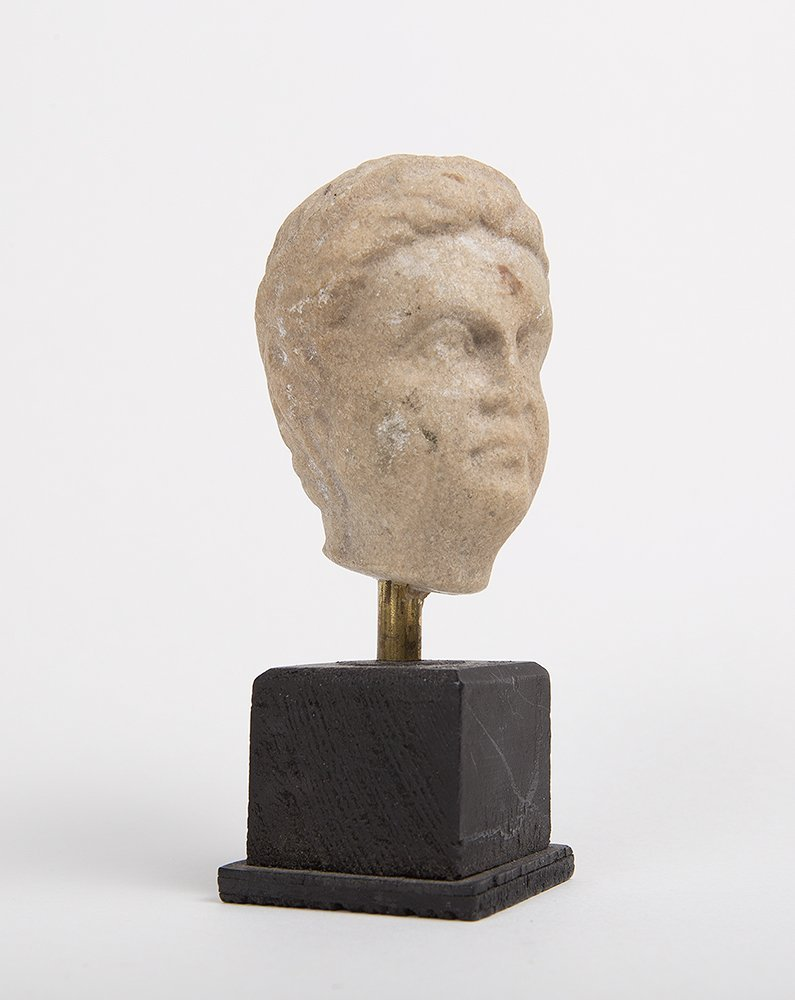 Ancient Roman Marble head of a Man c.1st-2nd century