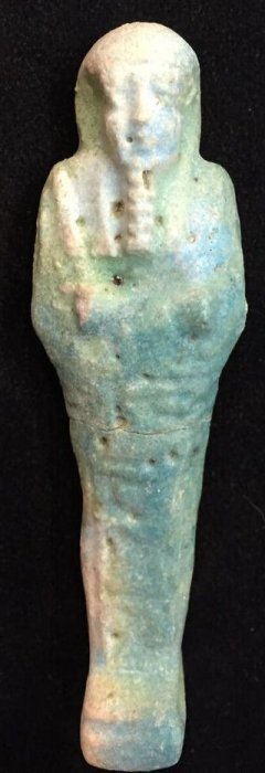 Ancient Ushabti Figure Egypt - Late Period, Ca. 700-30