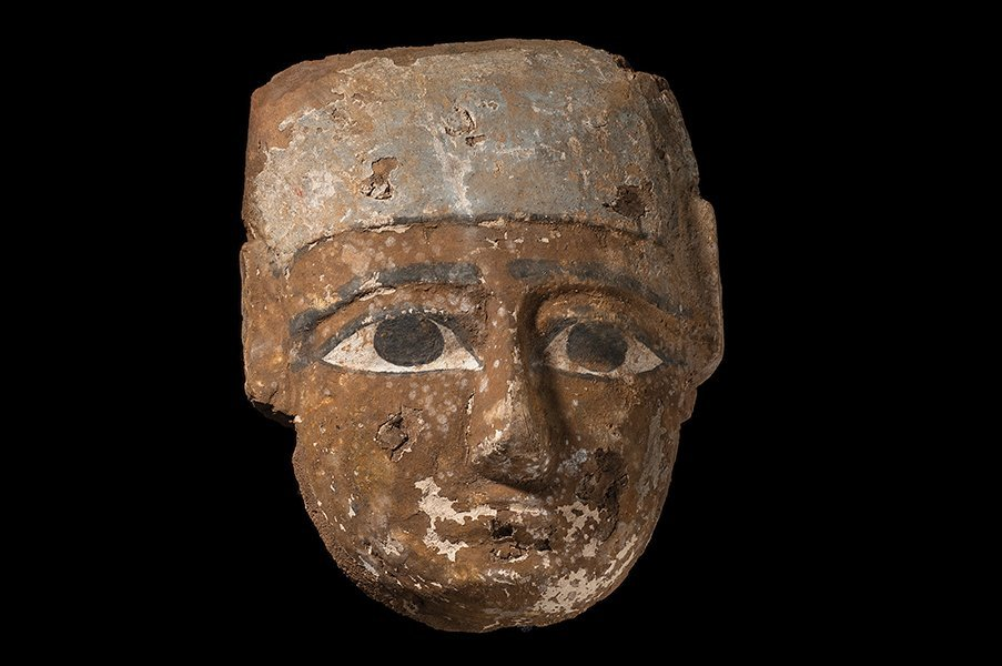 Ancient Egyptian Mummy Mask Late period, ca. 700-30 B.C