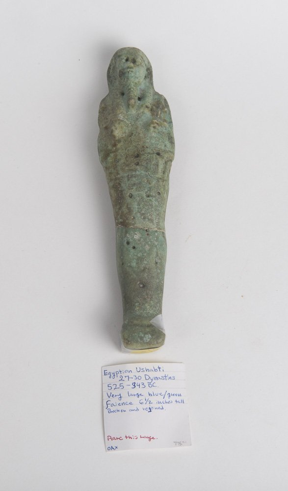 Ancient Ushabti Figure Egypt - Late Period, ca. 700-30