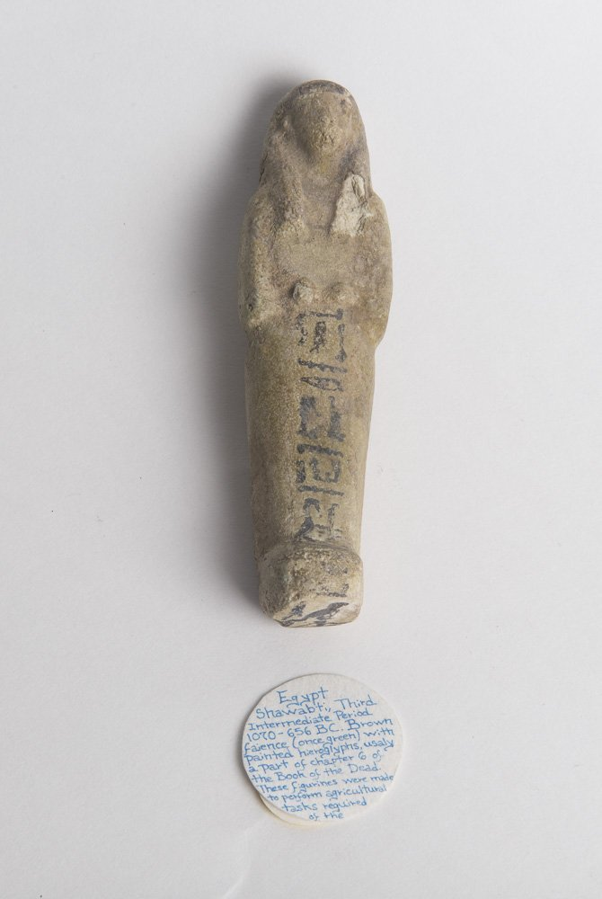 Ancient Egyptian Faience Ushabti Third Intermediate