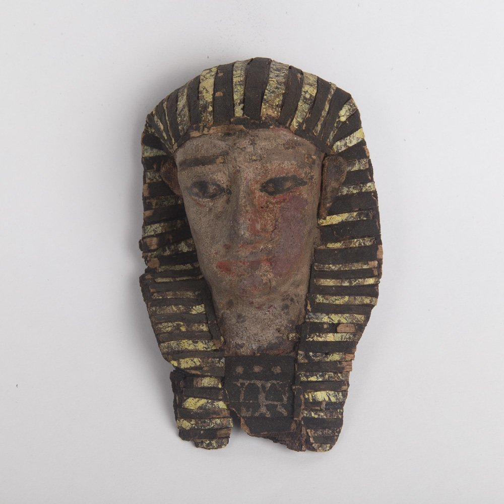 Ancient Egyptian Cartonnage Mask Roman Period c.1st cen
