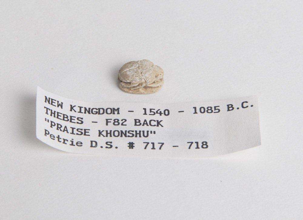 Ancient Egyptian Steatite Stone Scarab Ca. 1500-30 B.C.