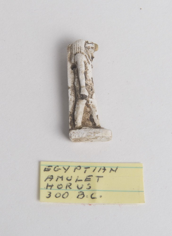 Ancient Egyptian Faience Amulet of god Horus Ca. 525 BC