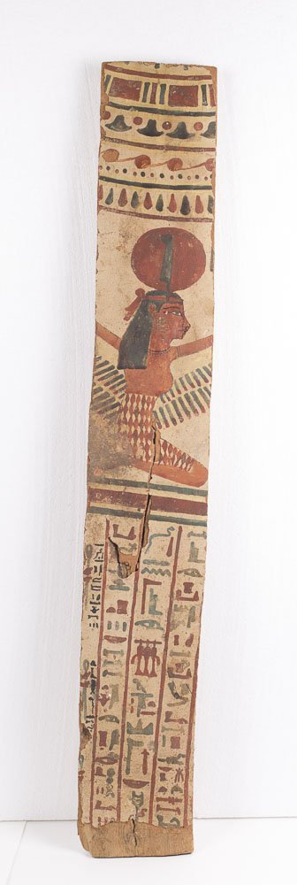 Ancient Egyptian Wood Panel with Hieroglyphs c.200 BC