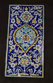 A Set of 18 Persian Qajar Ceramic Tiles c.19th century
