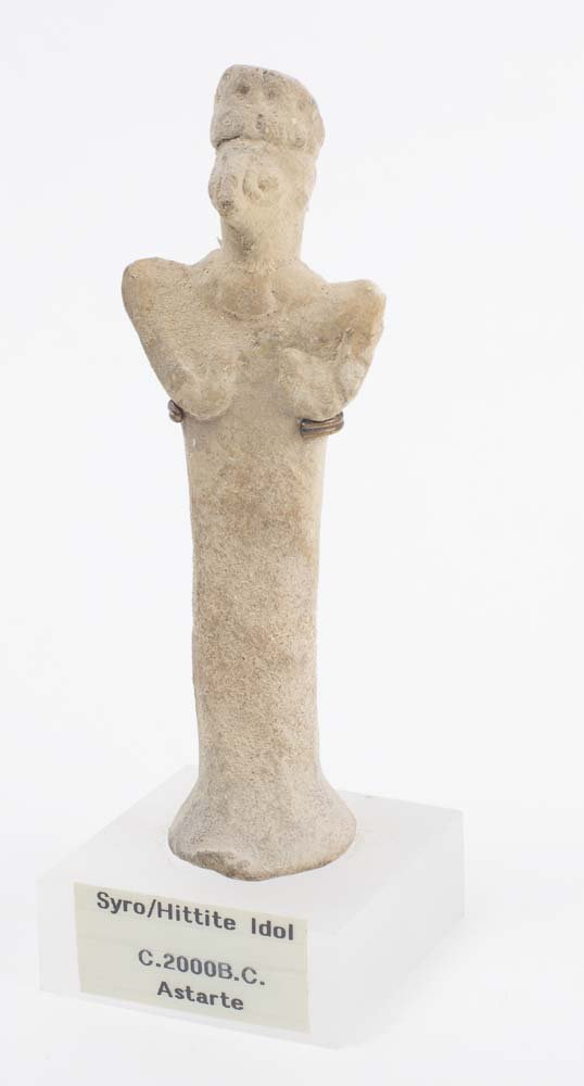 Ancient Syro Hittite Clay Idol Astarte c.2000 BC