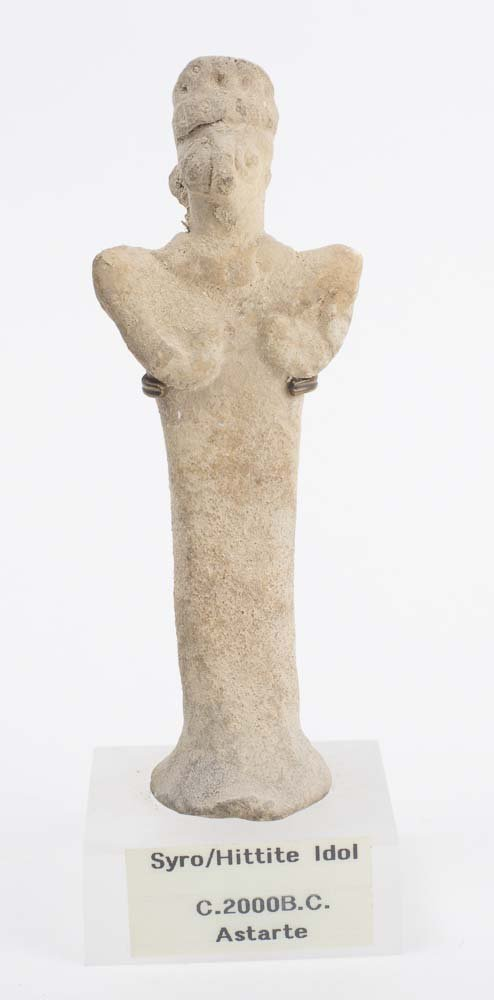 Ancient Syro Hittite Clay Idol Astarte c.2000 BC - 2