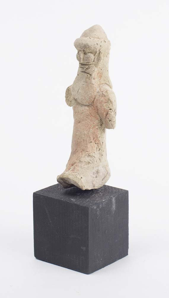 Ancient Babylonian Clay Bearded figure c.1900 BC - 2