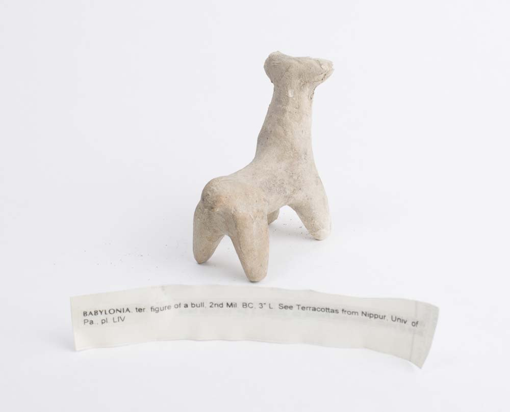 Ancient Babylonian Clay figure of a Bull c.1900 BC - 2