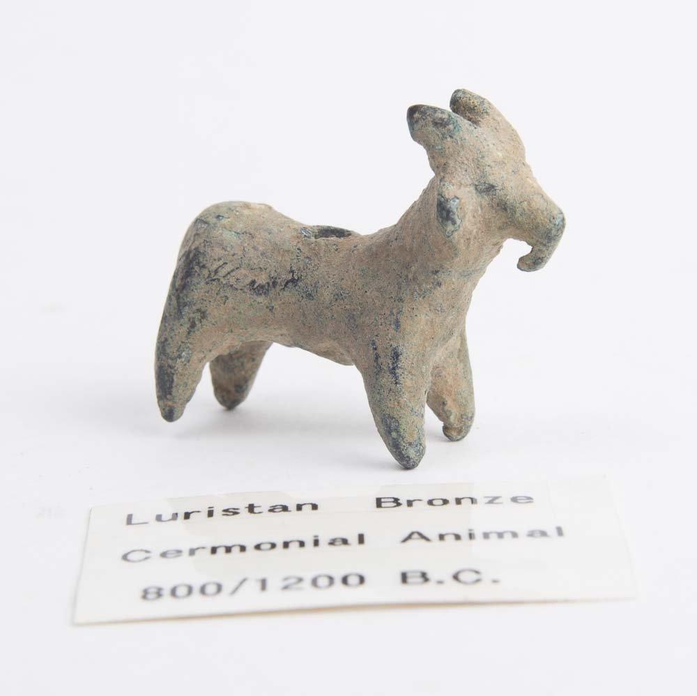 Ancient Luristan Bronze Goat c.800-1200 BC