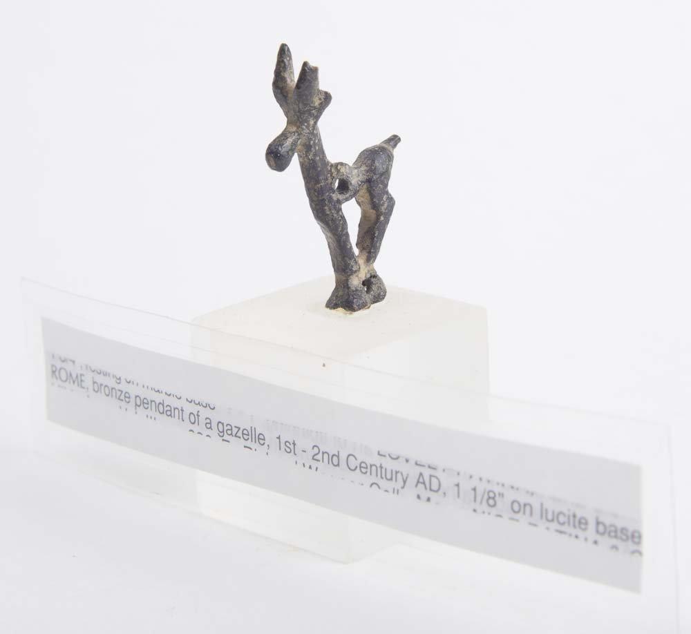 Ancient Roman Bronze Deer c.1st-2nd century AD