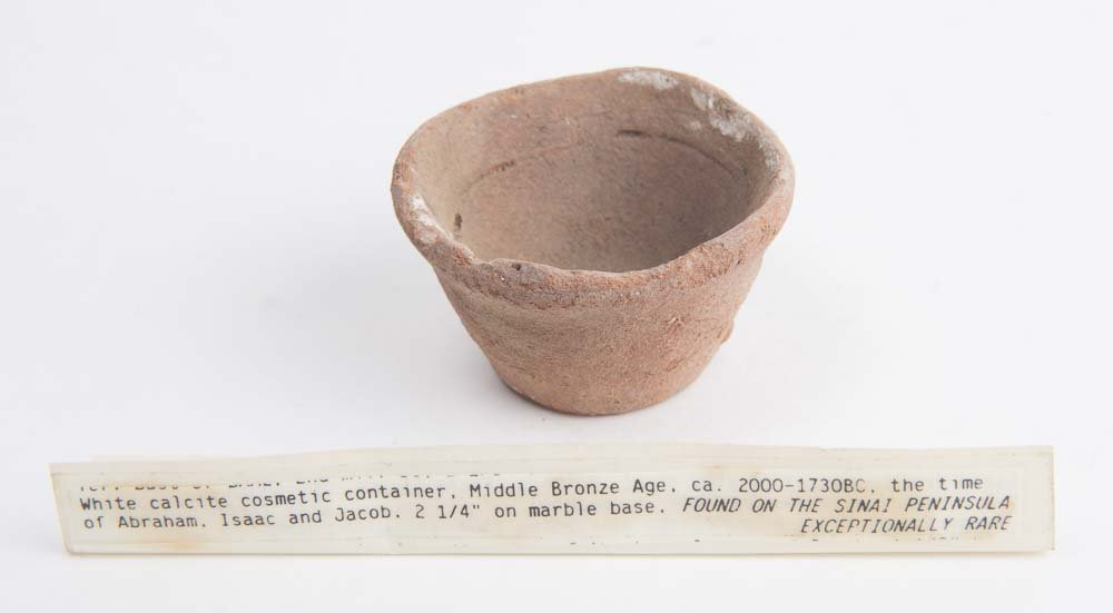 Ancient Holy Land Bronze Age Terracotta Cup c.2000 BC