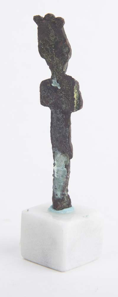Ancient Egyptian Bronze Figure of Osiris Ca. 600 BC - 2