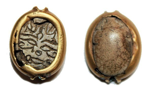 Ancient Egyptian Steatite Stone Scarab Ca. 1500 B.C